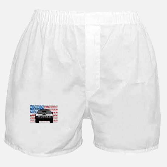 Street Racing American Muscle Boxer Shorts