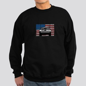 Street Racing American Muscle Sweatshirt (dark)