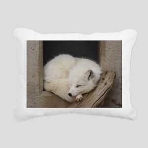 Sleeping corner Rectangular Canvas Pillow