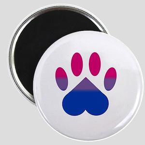 Bi Pride Paw Magnet