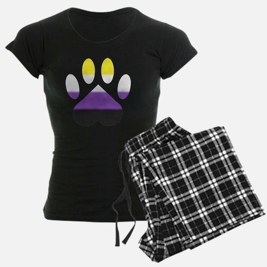 Nonbinary Pride Paw Pajamas