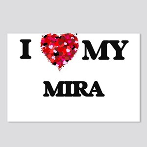 I love my Mira Postcards (Package of 8)