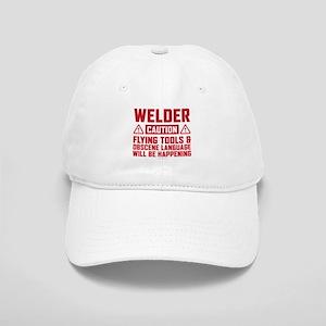Caution Welder Cap