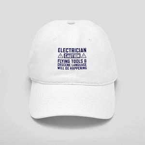 Caution Electrician Cap