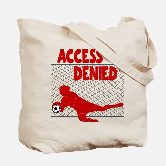 ACCESS DENIED (both sides) Tote Bag