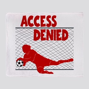 ACCESS DENIED Throw Blanket