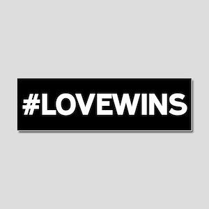 #LOVEWINS Car Magnet 10 x 3