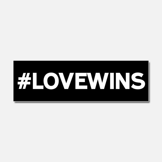 #LOVEWINS Car Magnet 10 x 3