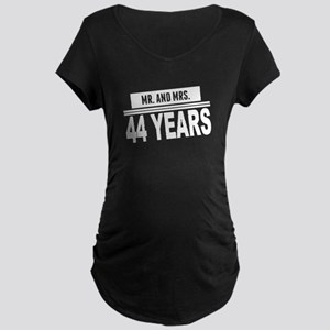 Mr. And Mrs. 44 Years Maternity T-Shirt