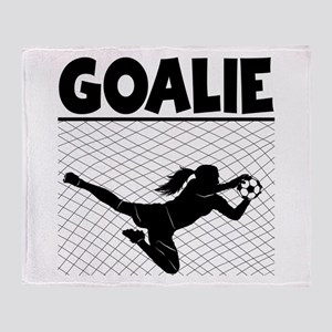 GOALIE Throw Blanket