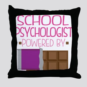 School Psychologist Throw Pillow