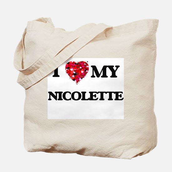 I love my Nicolette Tote Bag