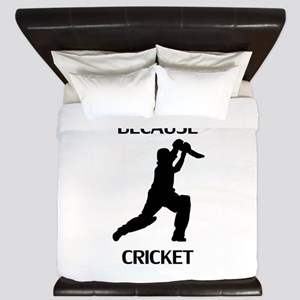 Because Cricket King Duvet