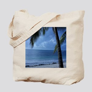 Palm Tree Beach Tote Bag
