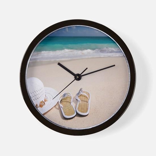 Cute Beach Wall Clock