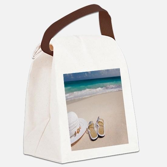Cute Ocean themed Canvas Lunch Bag
