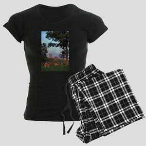 Dairy Farm Women's Dark Pajamas