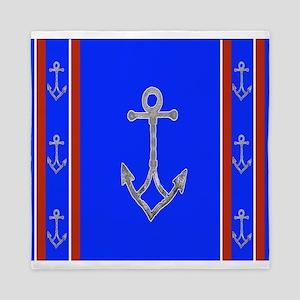 Anchor nautical Queen Duvet