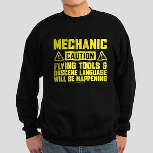 Caution Mechanic Sweatshirt (dark)