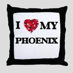 I love my Phoenix Throw Pillow