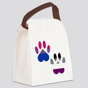 Bi Ace Pride Paws Canvas Lunch Bag