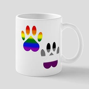 Gay Ace Pride Paws Mug