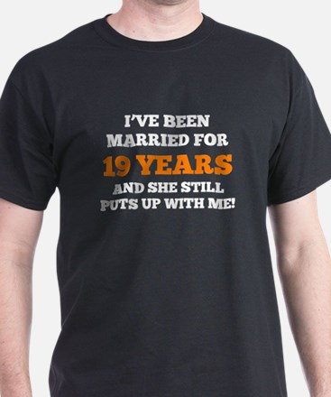 Ive Been Married For 19 Years T-Shirt