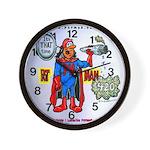 Time For Pot-Man! Wall Clock