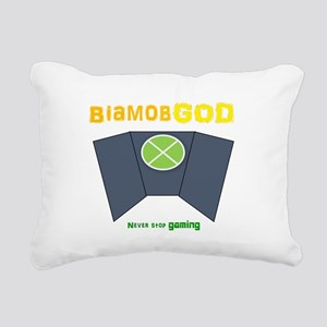 logo Rectangular Canvas Pillow