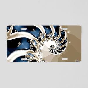 Osteodiplopada Aluminum License Plate