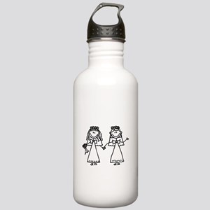 Funny Same-Sex Bride W Stainless Water Bottle 1.0L