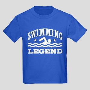 Swimming Legend Kids Dark T-Shirt