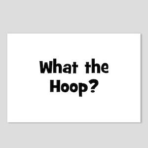 What the Hoop? Postcards (Package of 8)