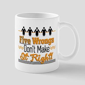 Five Wrongs Mugs