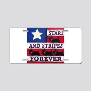 American Scotties Aluminum License Plate