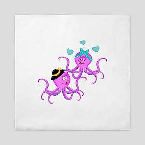 Octopus Love - Queen Duvet