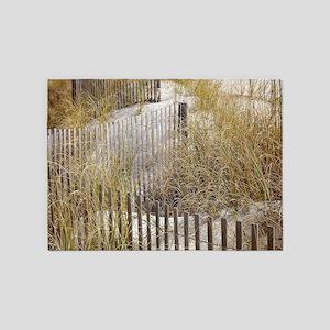 Beach Walkway Gifts 5'x7'Area Rug
