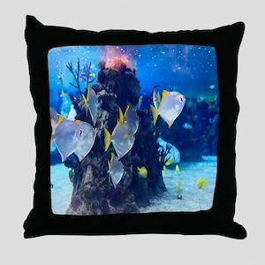 Underwater Fish Merchandise Throw Pillow