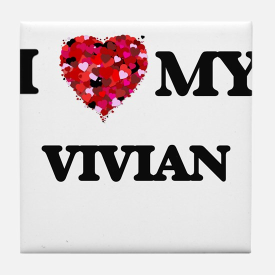 I love my Vivian Tile Coaster