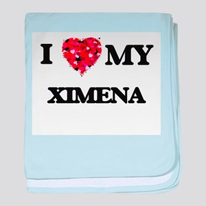 I love my Ximena baby blanket