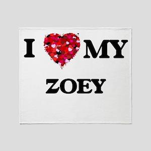 I love my Zoey Throw Blanket