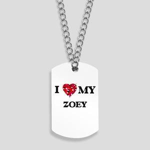 I love my Zoey Dog Tags