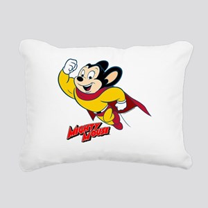 Mighty Mouse Logo14 Rectangular Canvas Pillow