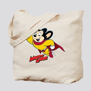 Mighty Mouse Logo14 Tote Bag