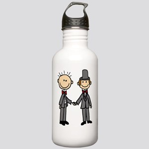 Funny Groom Same-Sex M Stainless Water Bottle 1.0L