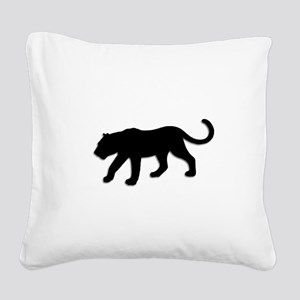 Black Panther Square Canvas Pillow