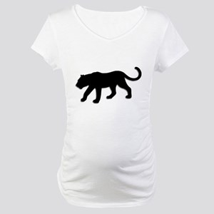 Black Panther Maternity T-Shirt
