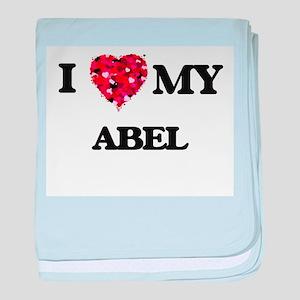 I love my Abel baby blanket