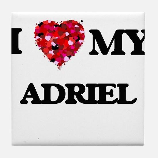 I love my Adriel Tile Coaster