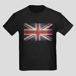 Union Jack flag - vintage retro style T-Shirt